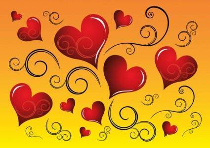 free vector Free Heart Graphics Vectors