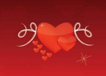 free vector Valentine Love Vector
