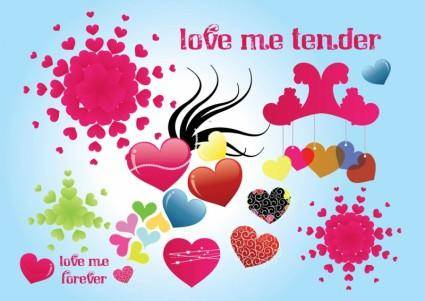 Tender Love Vector Graphics