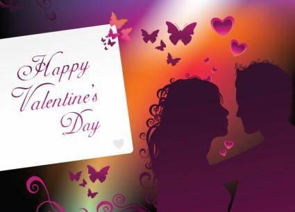 free vector Happy Valentine Art