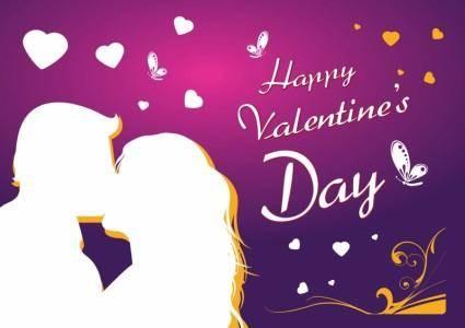 Free Love Card Vector Art