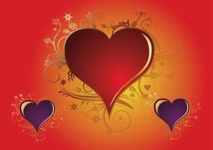 free vector Valentine Heart Vectors