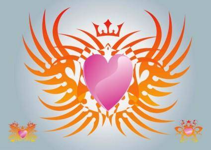 Free Heart Vector Graphics