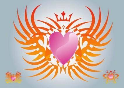 free vector Free Heart Vector Graphics