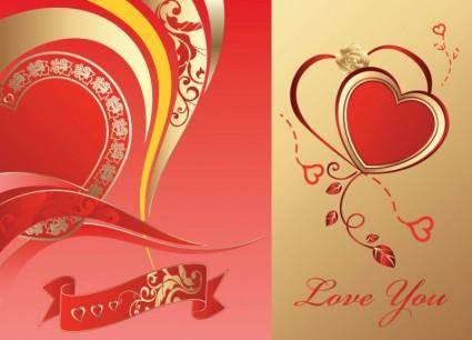 free vector Love Card