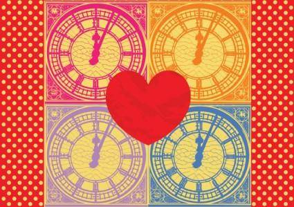 free vector What Time Is Love