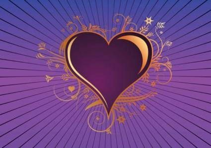 free vector Heart of Gold
