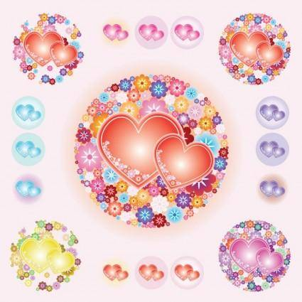 free vector Valentine Hearts Vectors