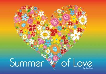 free vector Summer of Love