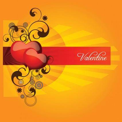 free vector Valentine Heart