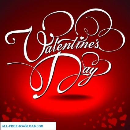 free vector My valentine day