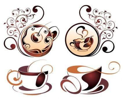 free vector Fine coffee element 04 vector