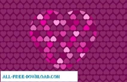 free vector Valentine Card 8