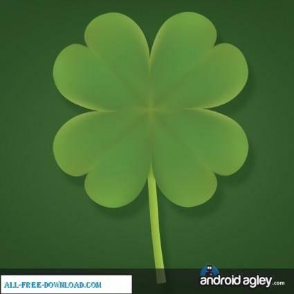 free vector Four Leaf Clover