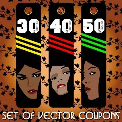 Fashion label 04 vector