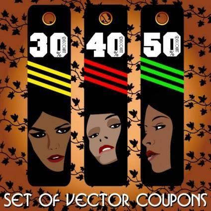 free vector Fashion label 04 vector
