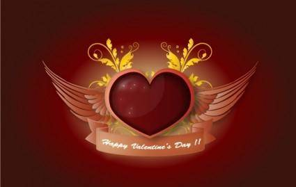 free vector Valentines Day Illustration