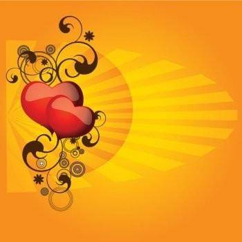 Elegant Hearts Vector Design Adobe Illustrator EPS