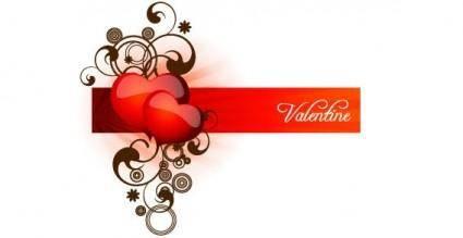 free vector Valentines heart vector