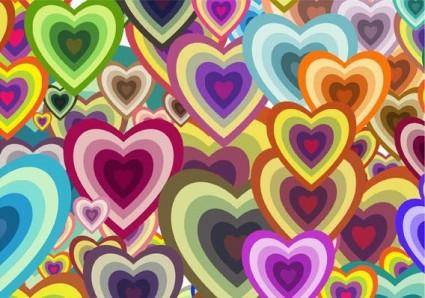 free vector Free Vector Wallpaper - Heart