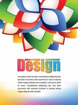 Colorful advertising posters 03 vector