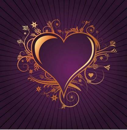 free vector Lovely Heart