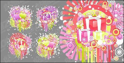 free vector Fun Valentine's Day vector material
