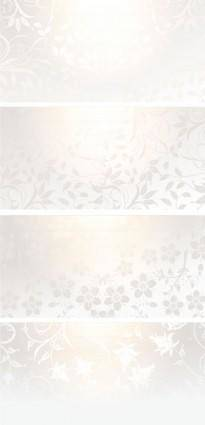free vector The gradient pattern bannervector