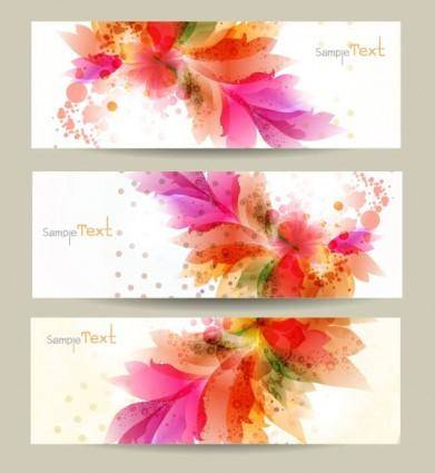 free vector Pattern banner01vector