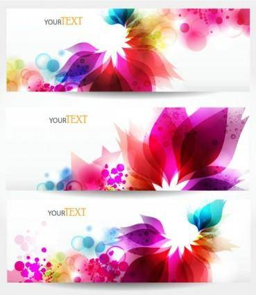 Dynamic trend banner03vector