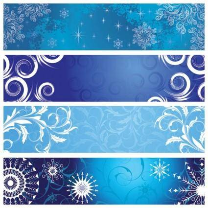 Classic pattern banner vector