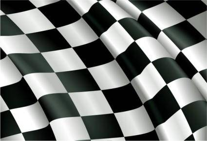 F1 racing banner local vector