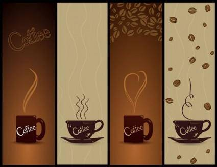 free vector Coffee banner01 vector