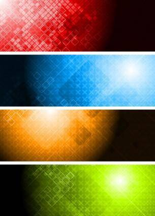 free vector Colorful banner banner01 vector