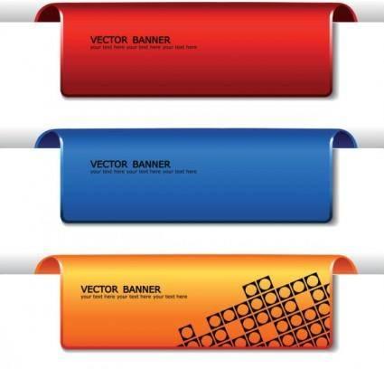 free vector Fine banner 01 vector