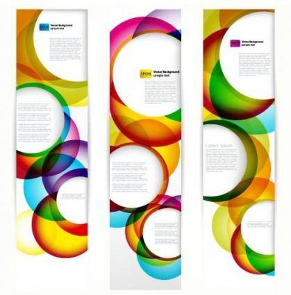 Brilliant dynamic banner03 vector