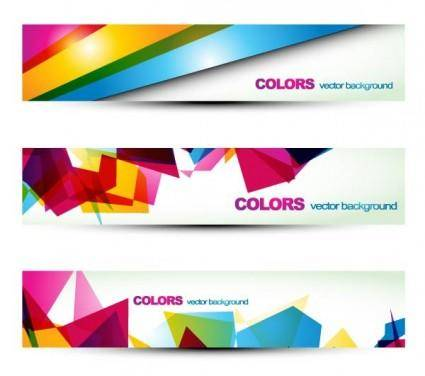 free vector Beautiful pattern banner 06 vector