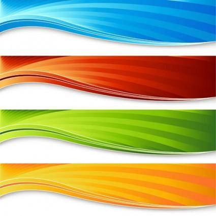 Colorful banner banner03 vector