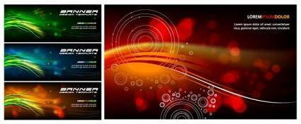 free vector Symphony banner vector background