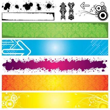 Banner vector background