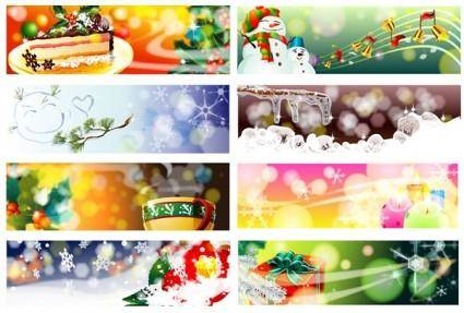 Christmas theme vector dream banner