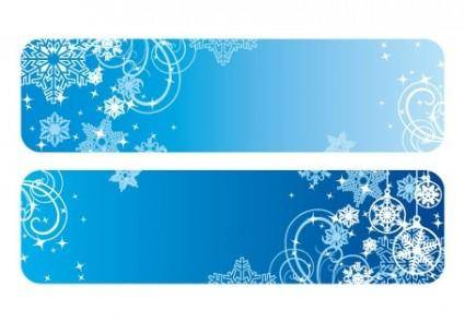 free vector Christmas banner vector
