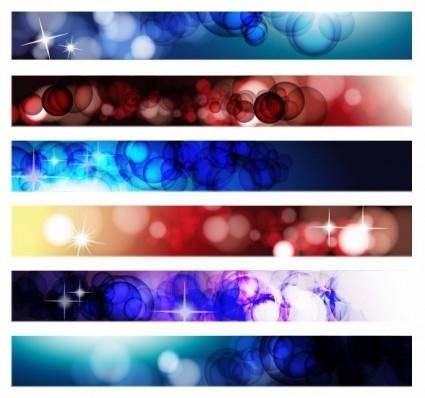 free vector Abstract Banner Vector