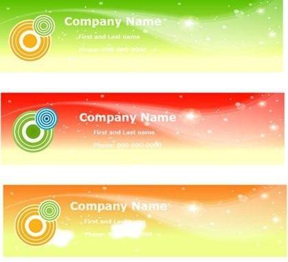 Free Vector Sky Banners