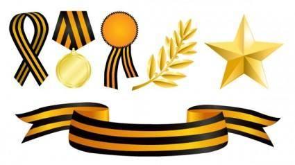 Medals element vector