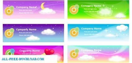 free vector Free Vector Banners