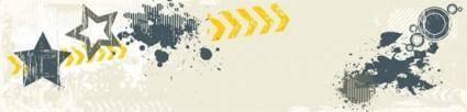 free vector Grunge Banner