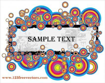 free vector Text Banner