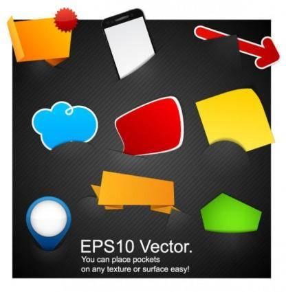 Embedding tags vector