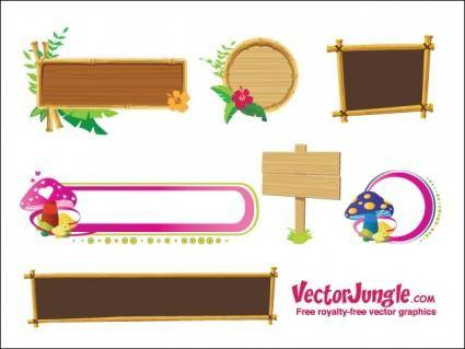 free vector Banners and Frames